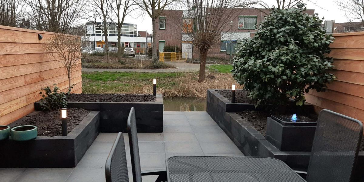 Tuin opnieuw aangelegd in Maarssen